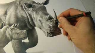 """Precious Moments"" pencil drawing by Richard Symonds"