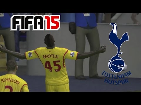 Spurs Career #2- Balotelli the God, Awful Defending, Late Comeback Win (FIFA 15)