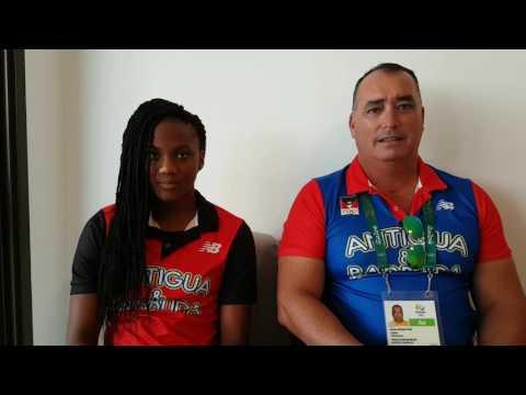 Rio Olympic Games - Team Antigua and Barbuda Swimming Team