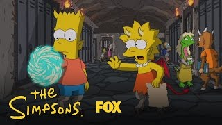 THE SIMPSONS | A Portal Back To Earth from Treehouse Of Horror XXV | ANIMATION on FOX