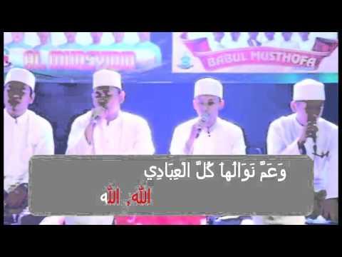 Al Munsyidin & BBM _ Qomarun + Lirik