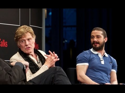Robert Redford & Shia LaBeouf | Interview | TimesTalks