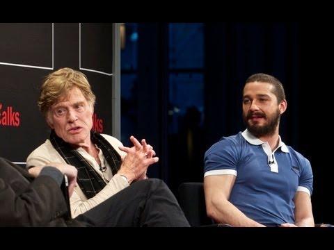 Robert Redford & Shia LaBeouf | Interview | TimesTalks