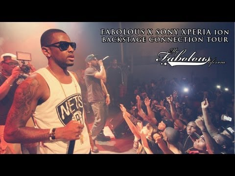 Fabolous Backstage Connection Tour In NYC! (Brings Out Lloyd Banks & Ryan Leslie)