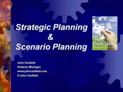 Topic - Strategic Planning & Scenario Planning