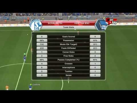 Schalke 04 - Hertha Berlin  28.03.2014 [Pes 2014 Match Predictions] Full Time 0-0