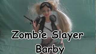 Zombie Slayer Barby