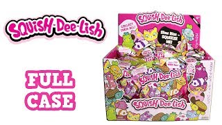 Squish-Dee-Lish Squishies Slow Rise Animal Food Squishy Unboxing Toy Review