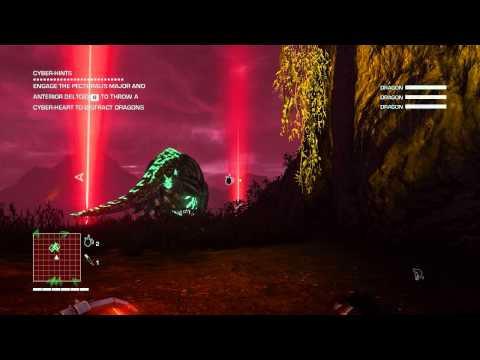Far Cry 3 Blood Dragon | Dinosaurs!...errr Blood Dragons