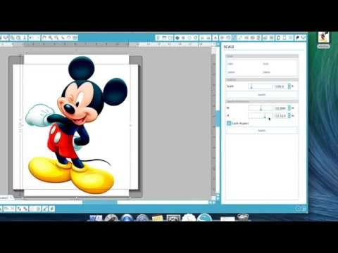 Silhouette Cameo Quick Tips - Tracing