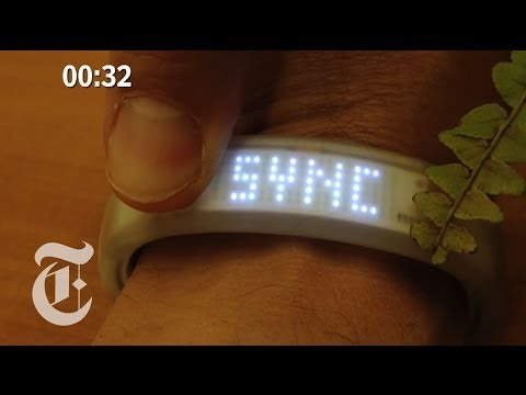 David Pogue Compares the Nike Fuel Band and the Jawbone UP Fitness Band