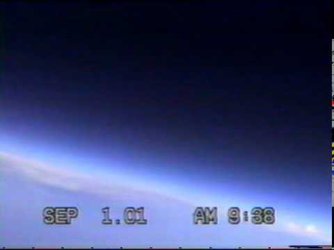 NSTAR Flight 01-E at balloon burst