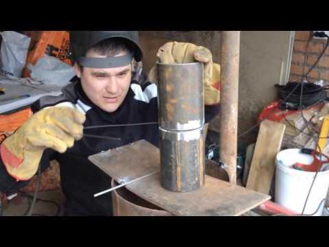 Как варить трубу электросваркой! Урок 3