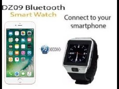 How To Pair DZ09 Smart Watch with Iphone 6S