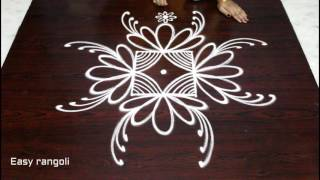 download lagu Easy Creative Rangoli Designs  3x3 Dots - Beautiful gratis