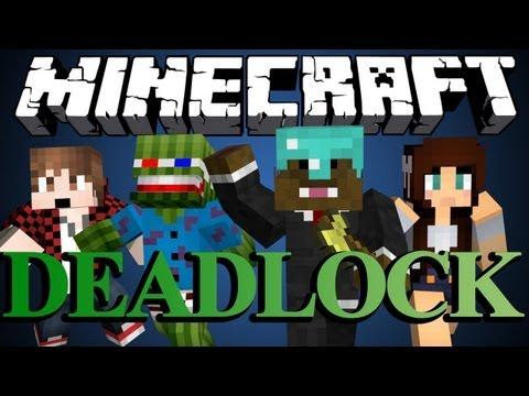 Minecraft DEADLOCK ADVENTURE MAP Part 1 w BajanCanadian Bashur and AshleyMariee