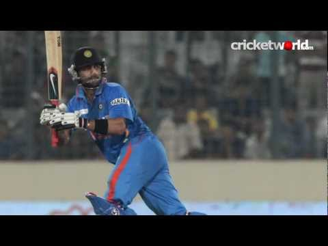 Cricket Video - Asia Cup 2012 - Kohli 183 As India Beat Pakistan - Cricket World TV