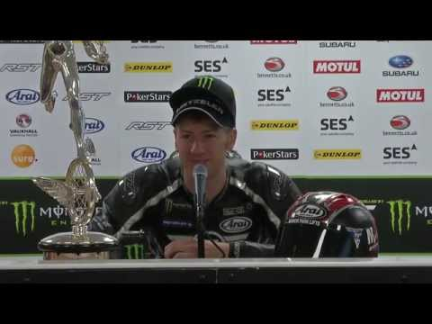 Monster Energy Isle of Man TT Supersport Race 2015 - Press Conference