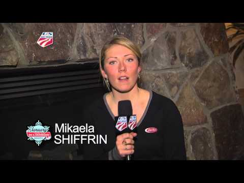 Mikaela Shiffrin | USSA | Learn to Ski and Snowboard Month