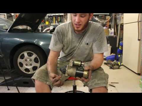 How to Replace Your Starter Hyundai Elantra 01-06