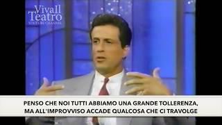 Sylvester Stallone - The Arsenio Hall Show (1990) - Seargeoh Stallone - Sub ITA - Autism