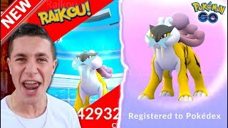NEW LEGENDARY RAIKOU CAUGHT IN POKÉMON GO! FIRST GEN 2 BEAST IN THE DEX!