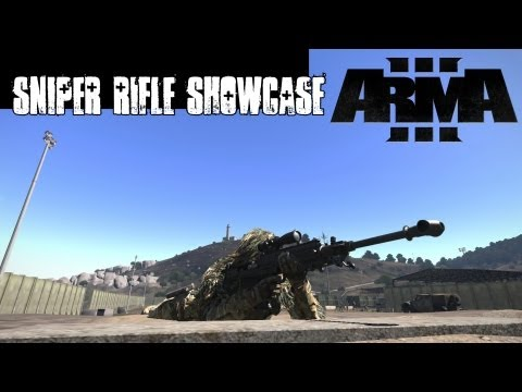 ArmA 3 Sniper Rifle Showcase - GM6 Lynx and M320 LRR - 300-2500 Meters