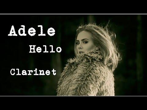 Adele  Hello  Clarinet