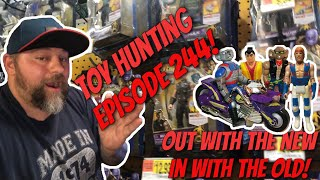Toy Hunting Episode 244 - Out With The New, In With The Old!