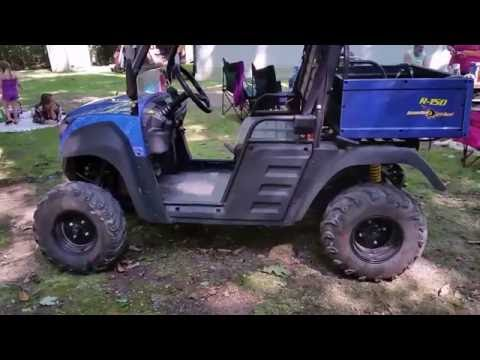 Hammerhead R 150 utv side by side - test drive and review Made by Polaris
