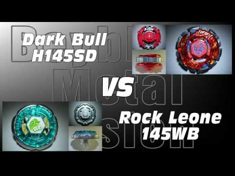 Dark Bull H145sd Vs Rock Leone 145wb - Amvbb Beyblade Battle video