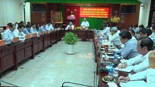 Thủ tướng làm việc với BanThường vụ tỉnh Sóc Tăng