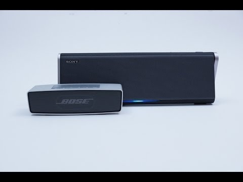 Sony SRS-BTX300 Unboxing. Review & Sound Comparison vs Bose Soundlink Mini
