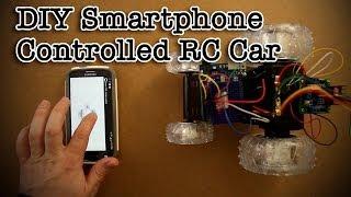 DIY Smartphone Controlled RC Car