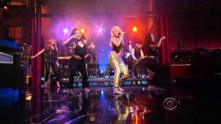 Shakira - Loca HDTV 1080i (09 23 10) Late Show With David Letterman