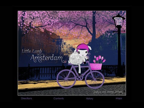 Little Lamb in Amsterdam, an interactive travel guide