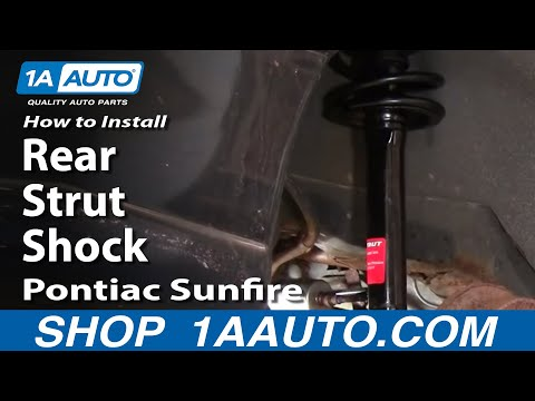 How To Install Rear Strut Shock Chevy Cavalier Sunfire 95-05 1AAuto.com