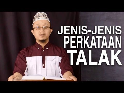 Serial Fikih Perceraian 7: Jenis-Jenis Perkataan Talak - Ustadz Aris Munandar