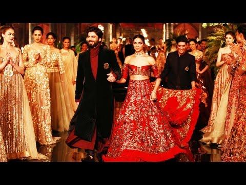 Deepika Padukone and Fawad Khan walks the ramp for Manish Malhotra, watch video   Filmibeat