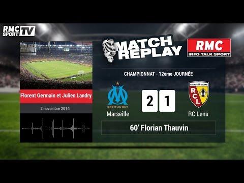 OM-Lens (2-1) : le Match Replay avec le son de RMC Sport