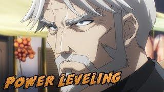 Sebastian Power Leveling Noobs   Overlord Season 2 Episode 8