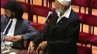 Ahmed Deedat Answer – Why not let God speak to us and we decide ourselves?