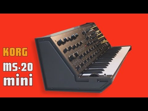 KORG MS-20 MINI new Analog Synthesizer 2013 | HD DEMO |