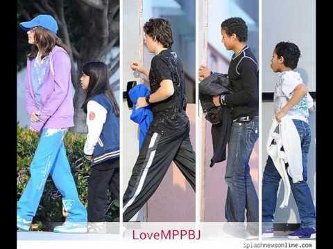 *new* Prince, Paris Blanket Jackson @ movies March 7th 2010.