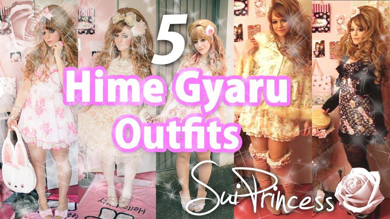 Gyaru Fashion Outfits Hime Gyaru Outfits Video 2