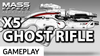 Mass Effect: Andromeda - New Ghost Rifle Gameplay