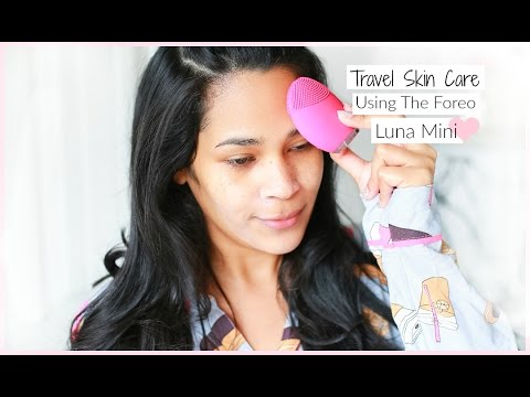 Travel Skin Care Using The Deep Cleansing Essentials With Luna Mini Sephora Gift Set MissLizHeart