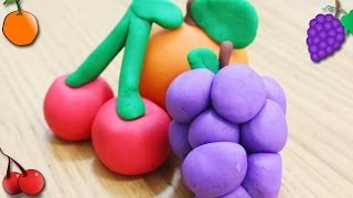 How to Make Popular Playdough Fruits by Hooplakidz How To