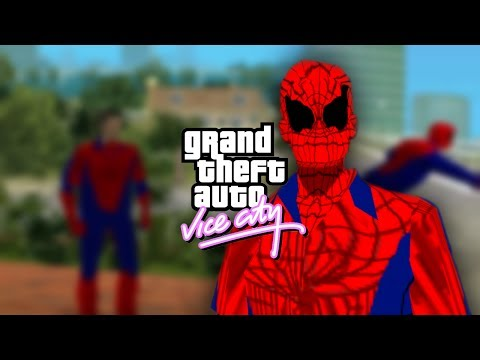GTA Vice City - skin The Amazing Spider-Man
