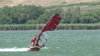 Windsurfing On Ružiná /Slovakia/ - Summer 2016